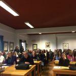 Συμμετεχόντες στο σεμινάριο των χρηματοδοτήσεων στο ΕΚΒΥ.