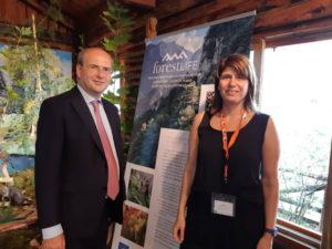 Ο Υπουργός Περιβάλλοντος και Ενέργειας κ. Χατζηδάκης επισκέπτεται το έργο LIFE Forestlife στην 84η ΔΕΘ